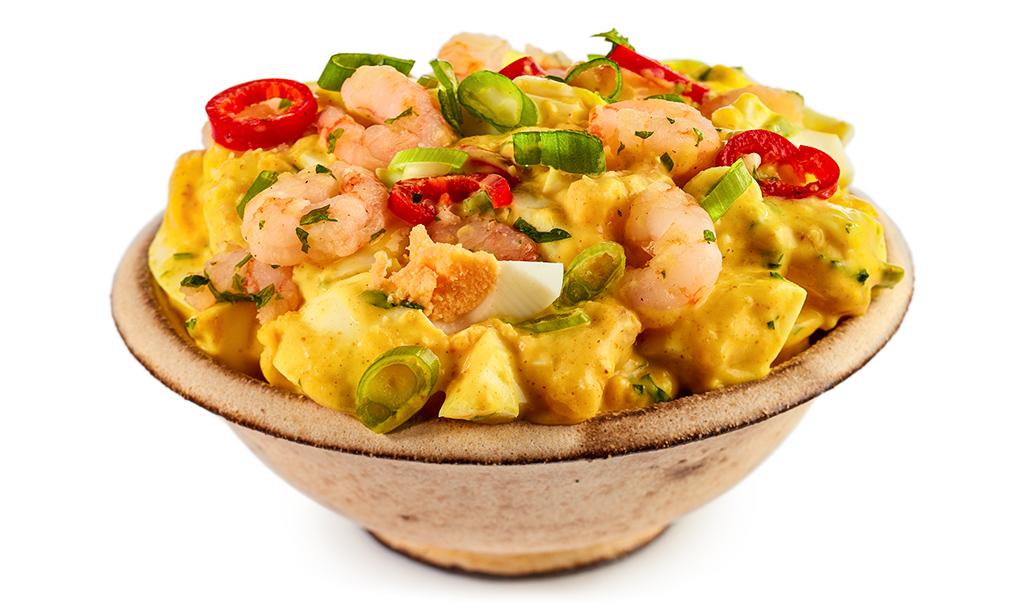 Rezept drucken curry eier salat - Eier hart kochen zeit ...