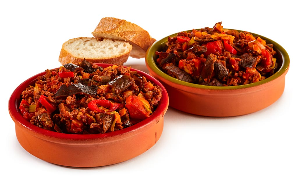 Aubergines Chili con Carne