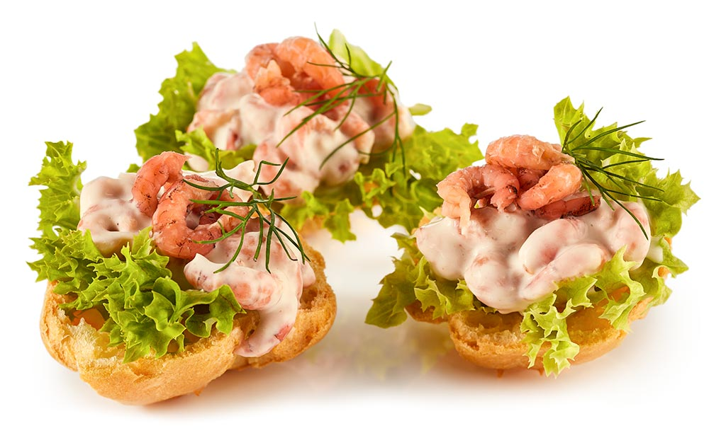 rezept drucken windbeutel mit krabben salat. Black Bedroom Furniture Sets. Home Design Ideas