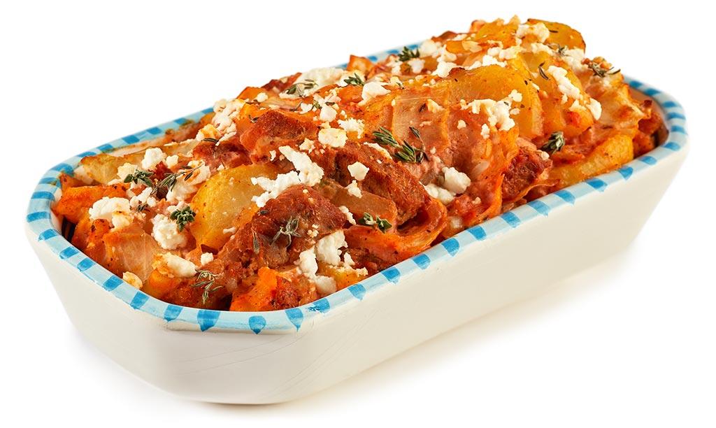Gyros Potato Casserole
