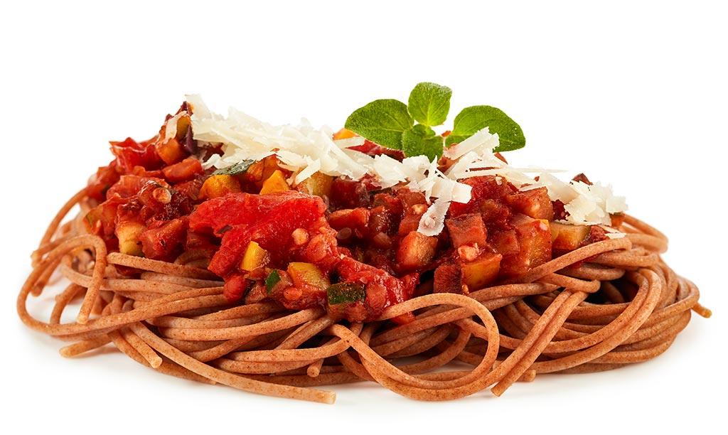 Spaghetti Vegetables Bolognese