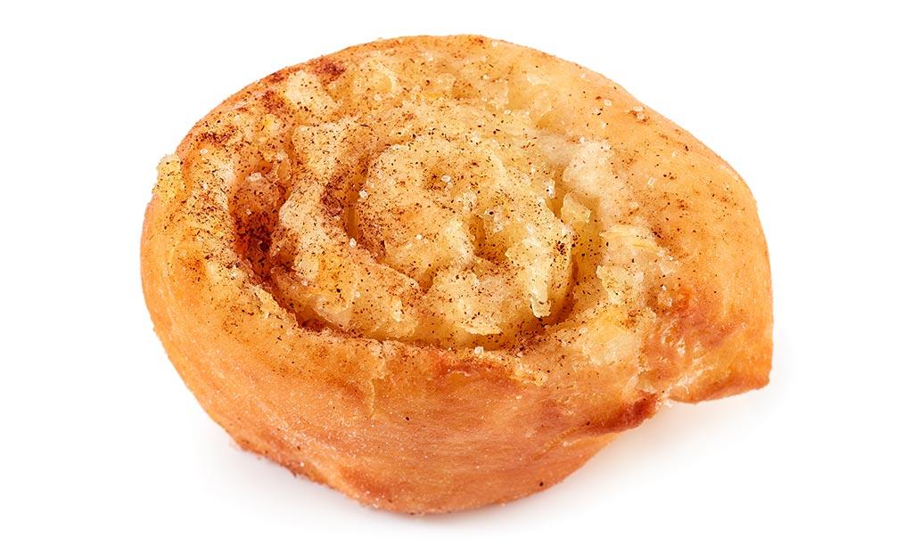 Apple doughnut