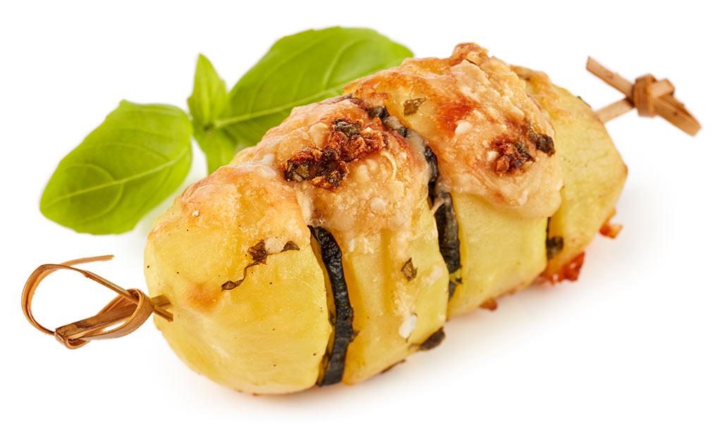 Zucchini Oven Potatoes