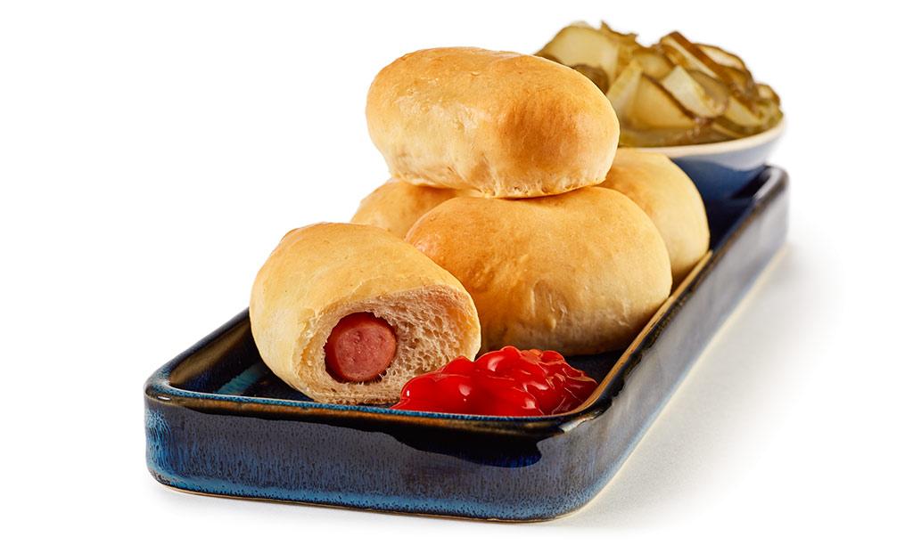 mini hot dog rezept. Black Bedroom Furniture Sets. Home Design Ideas