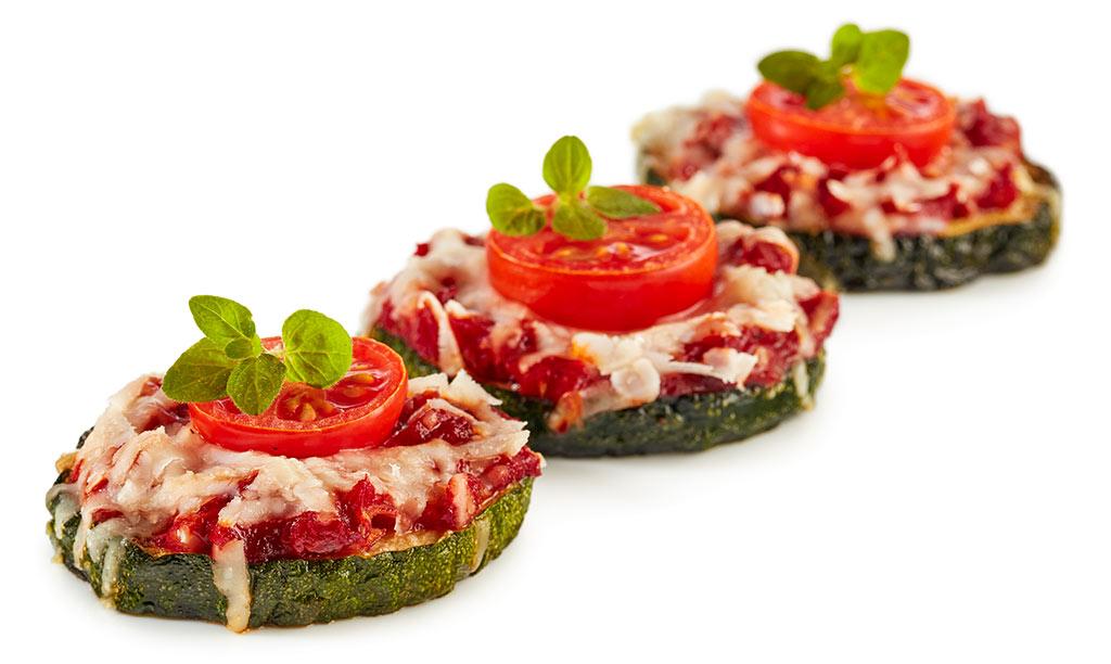 Zucchini Pizza Fingerfood