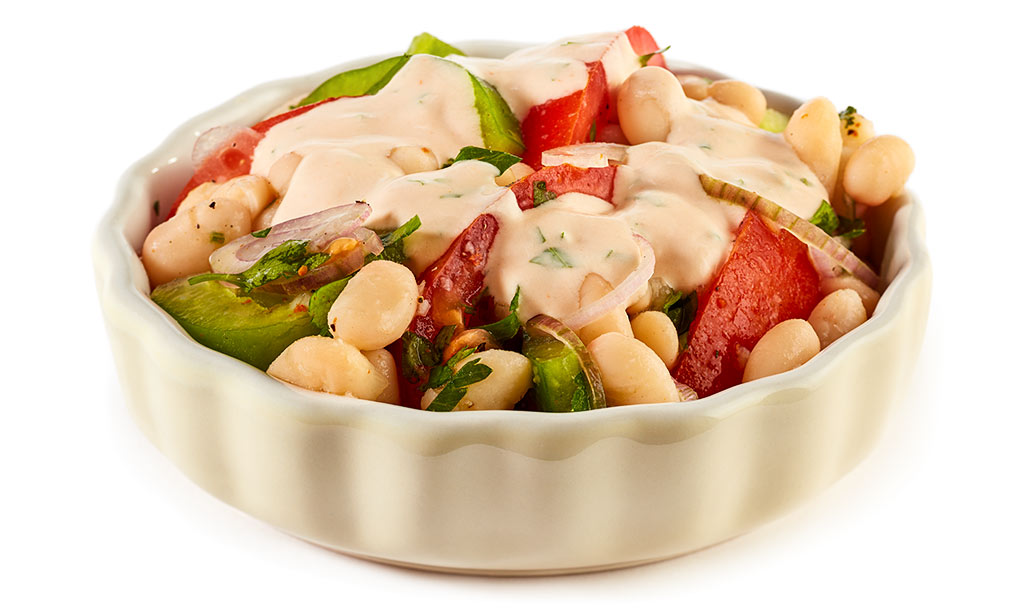 American Beans Vegetable Salad