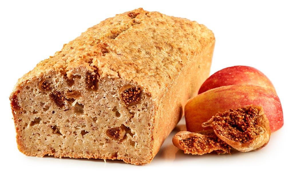 Apple Figs Oat Flakes Cake