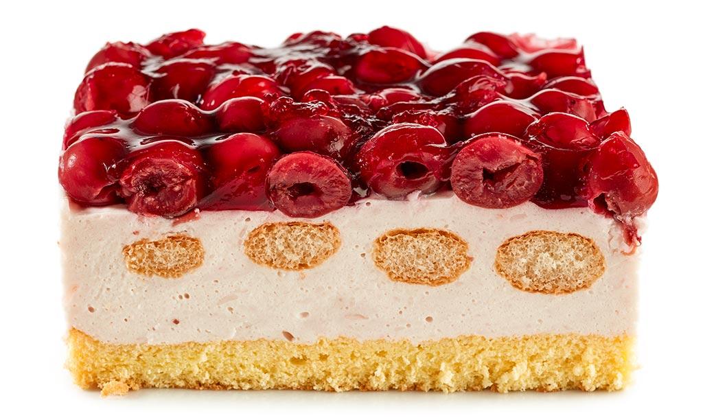 Cherry Tiramisu Cake