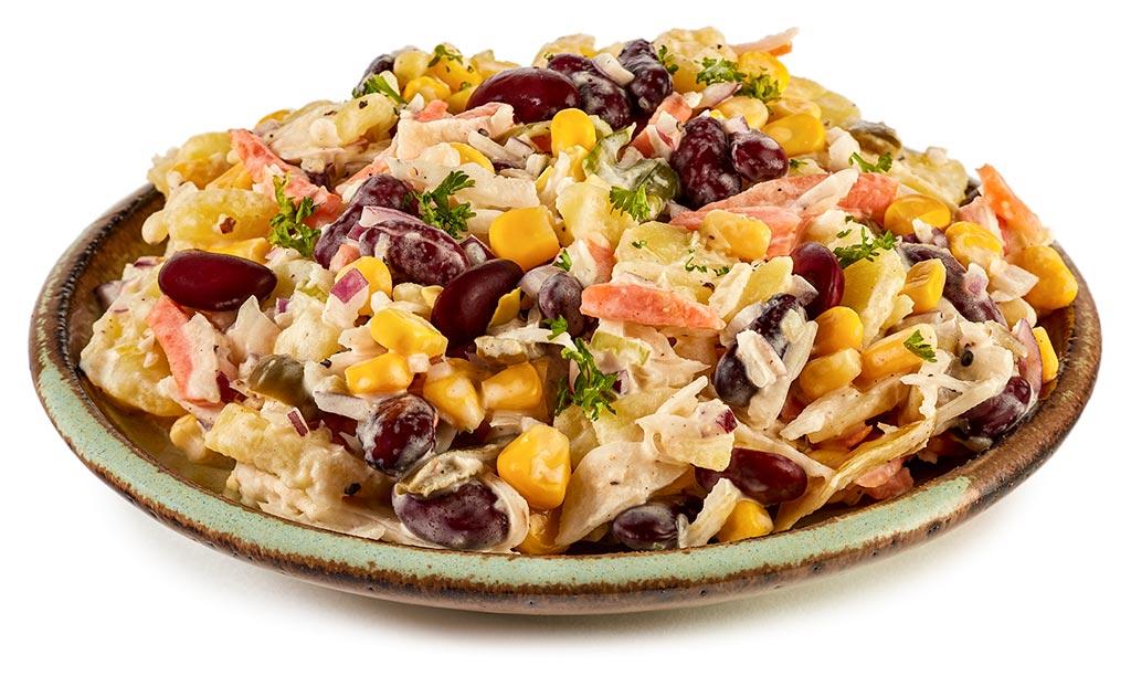 Coleslaw potato salad