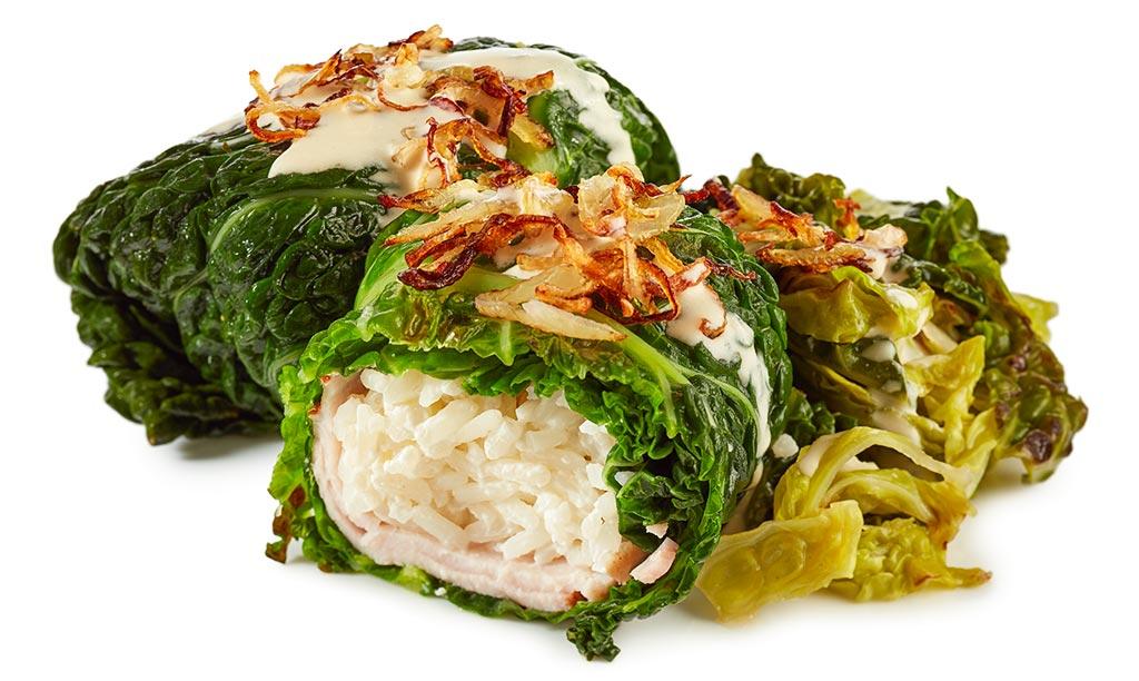Cassler Cabbage Roulades