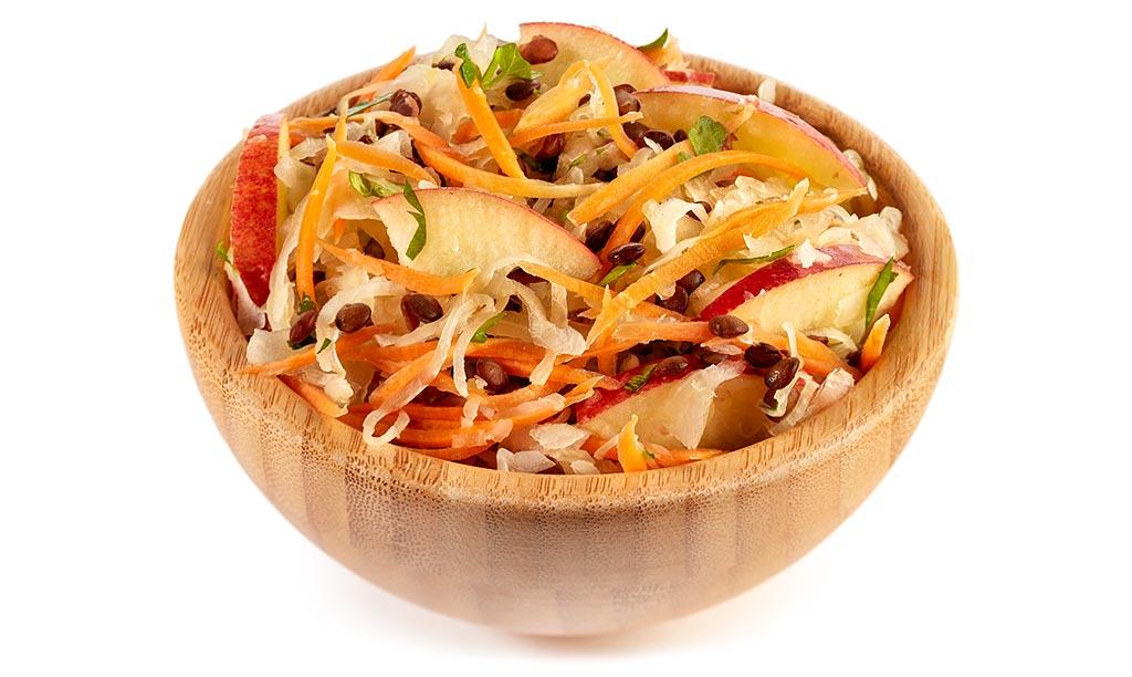 Sauerkraut Lentils Salad