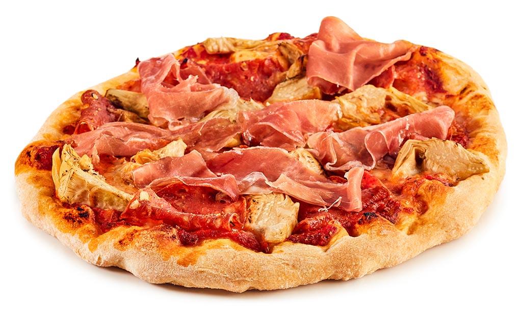 original pizza schinken salami rezept. Black Bedroom Furniture Sets. Home Design Ideas