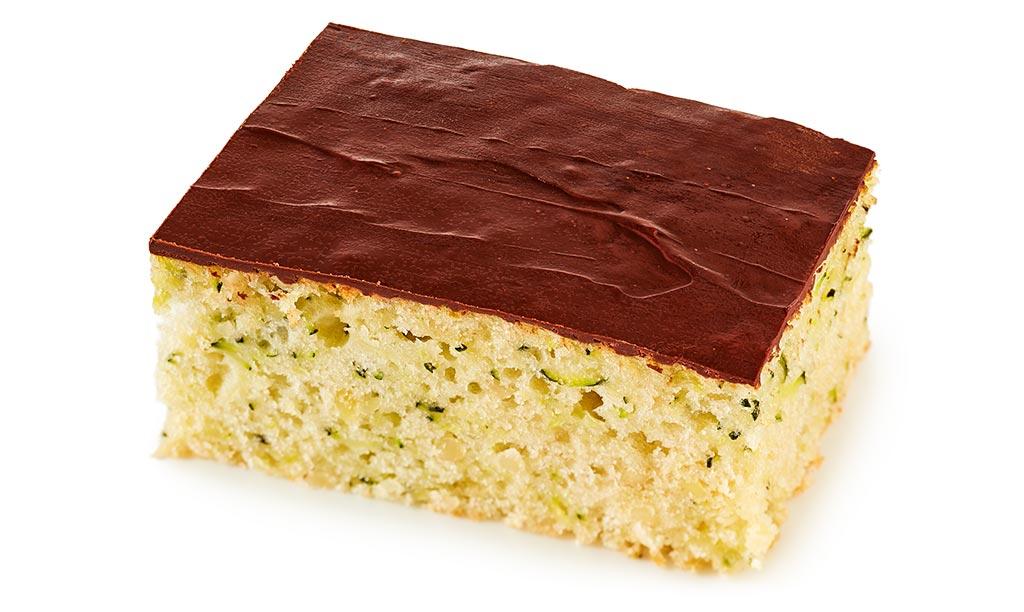 Zucchini cake from the baking sheet