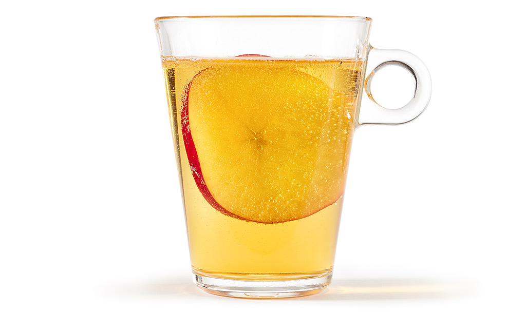 Apple spritzer non-alcoholic