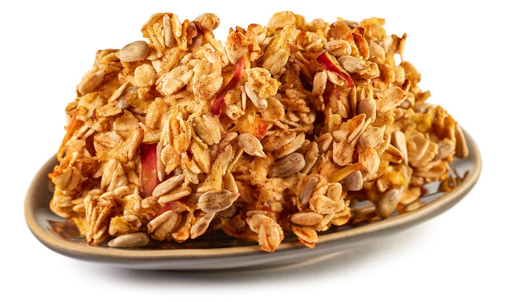 Apple Oat Flakes Cookie