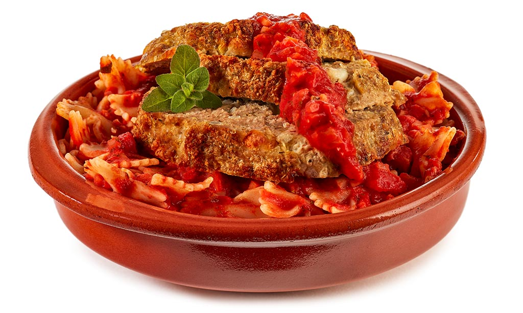 Bolognese meat loaf