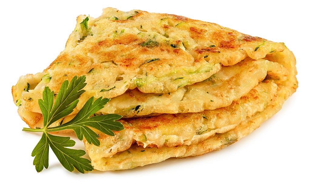 Zucchini Cheese Pancakes