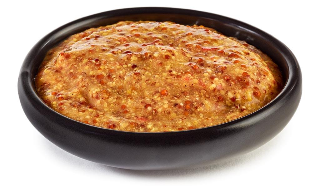 Mango Chili Mustard Fondue Sauce