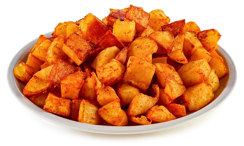 Crispy potatoes from the oven