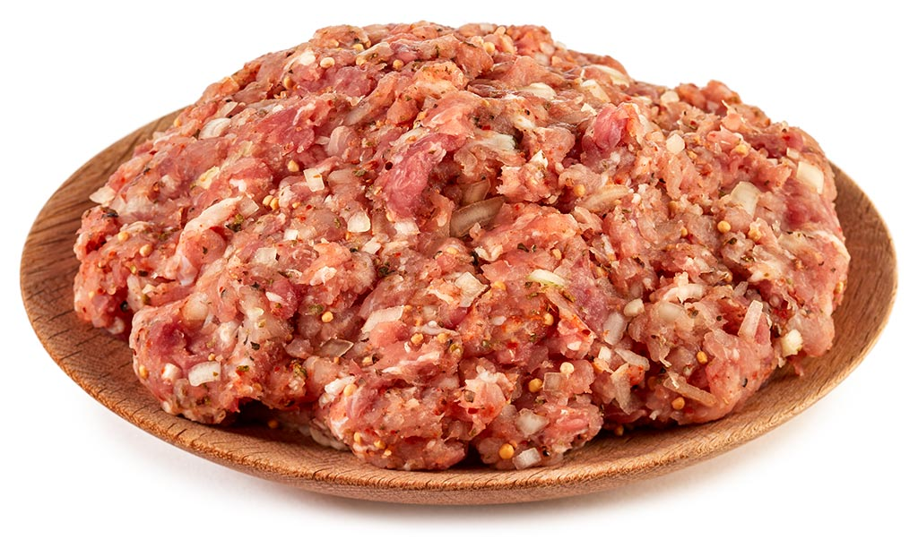 Thuringian minced pork