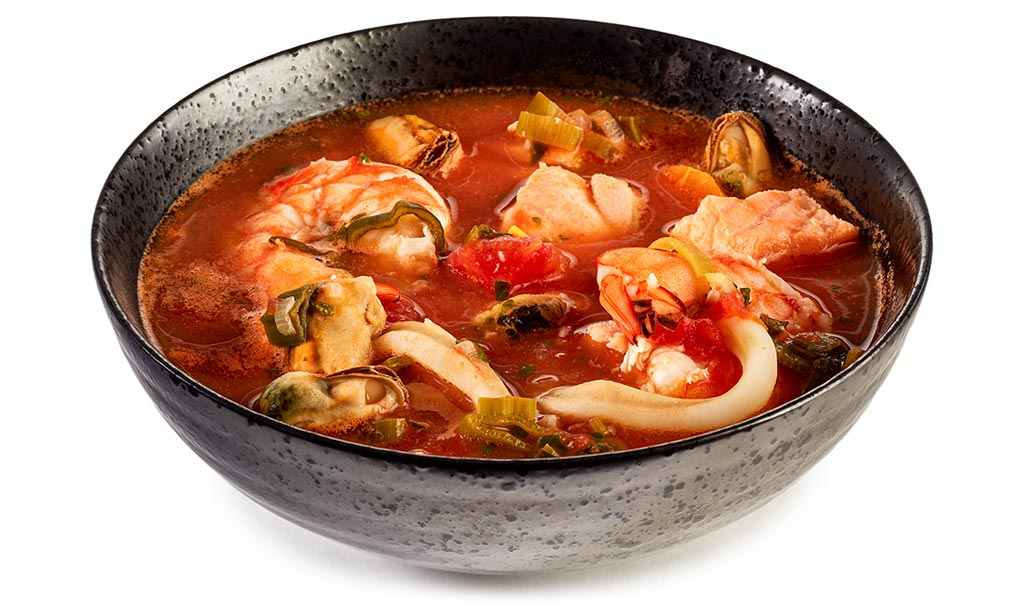 Fish Mussel Soup