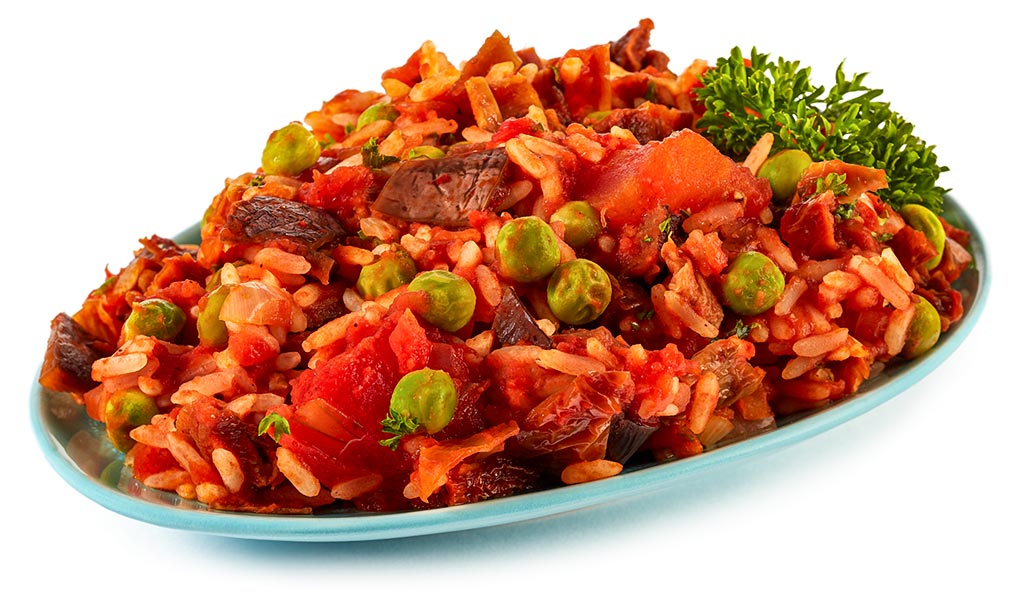 Djuvec rice with vegetables