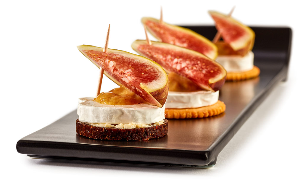 Goat cheese Figs Fingerfood