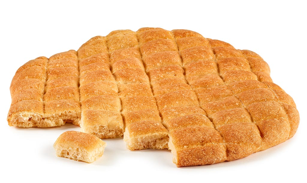 Fondue flat bread