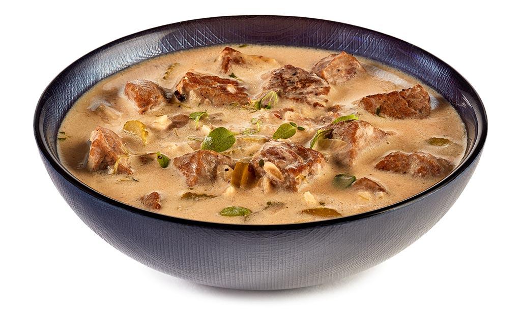 Rump Steak Cream Goulash Soup
