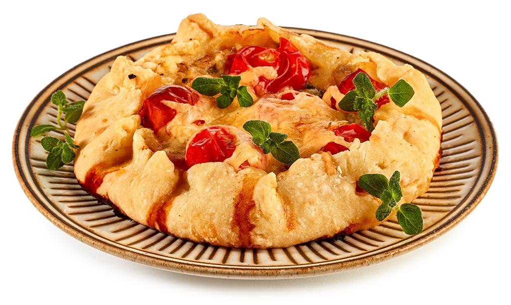 Shortcrust pastry tuna galettes