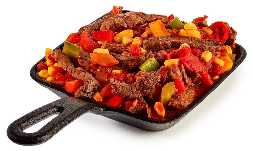 Mexican Steak Pan