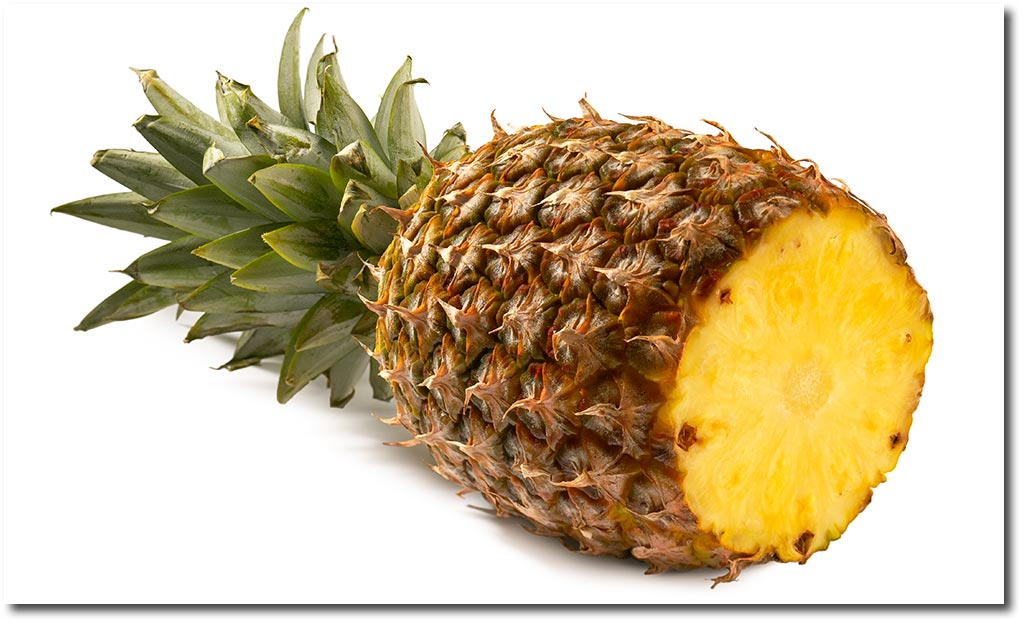 Fresh pineapple