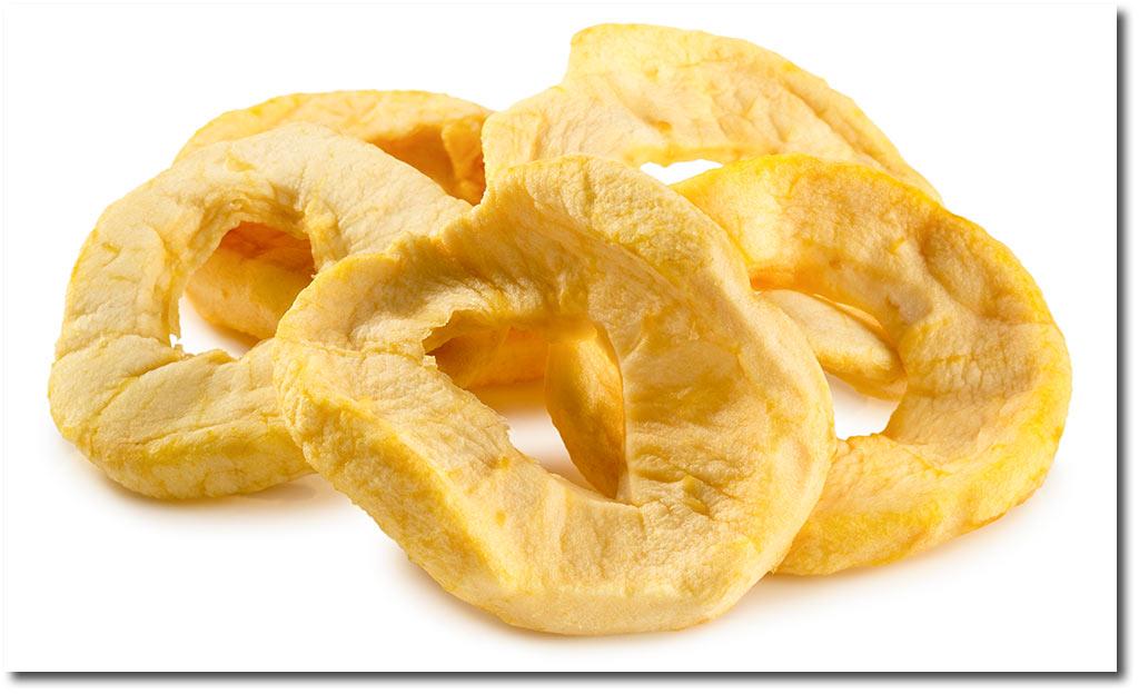 Extrem Rezepte mit Getrocknete Apfel Ringe KL01