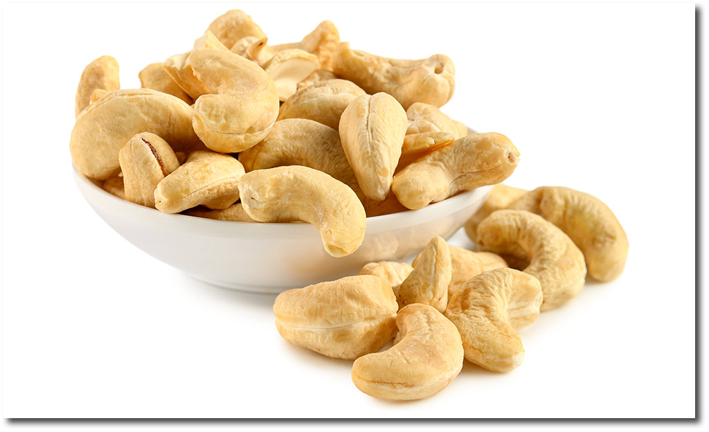 Unsalted Cashew Kernels