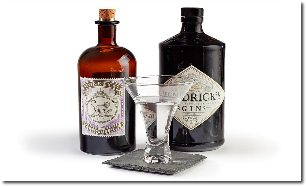 Les produits Gin