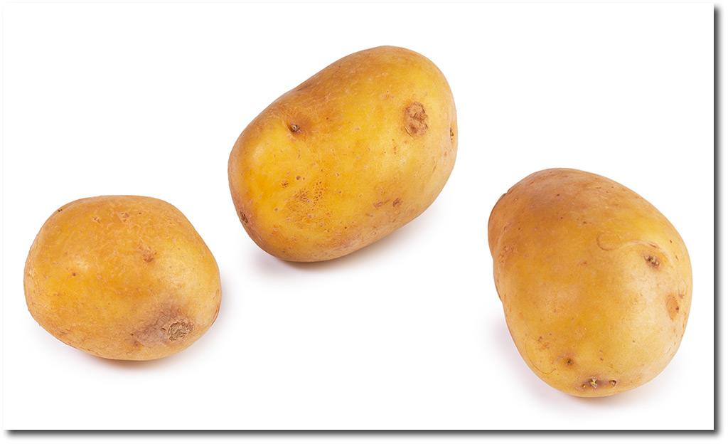 Floury boiling potatoes