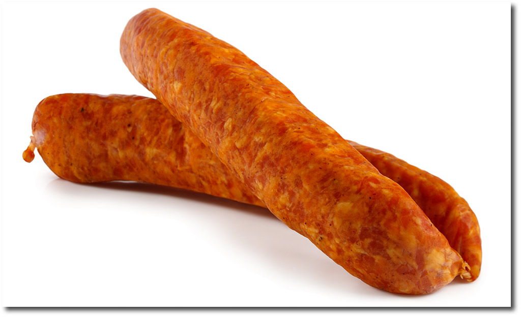 Meat ends sausage
