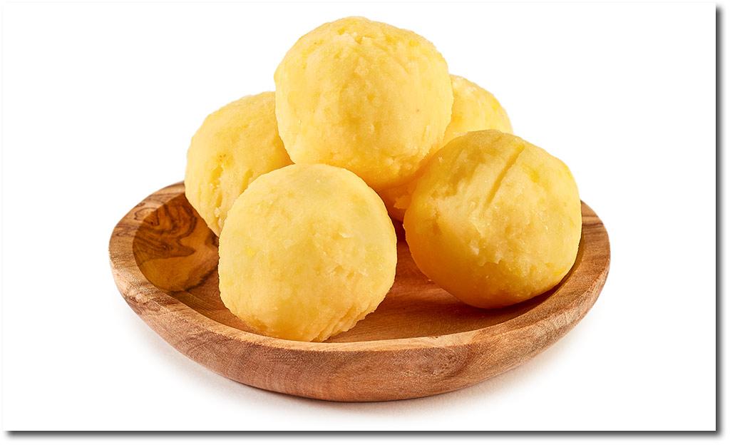Mini potato dumplings