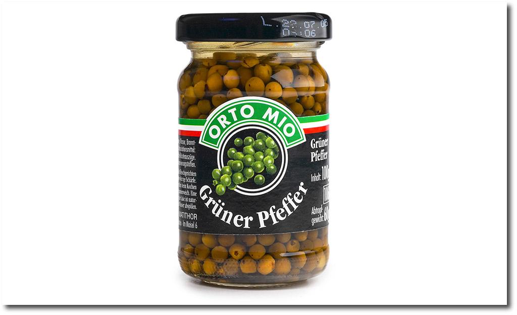 Green pepper grains
