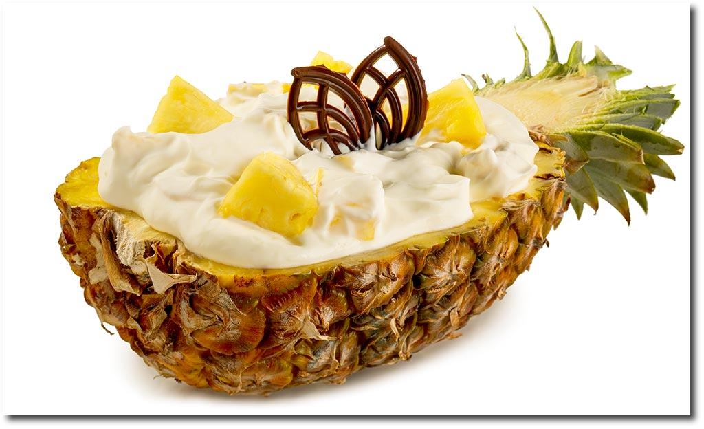 rezept backofen ananas rezepte dessert. Black Bedroom Furniture Sets. Home Design Ideas