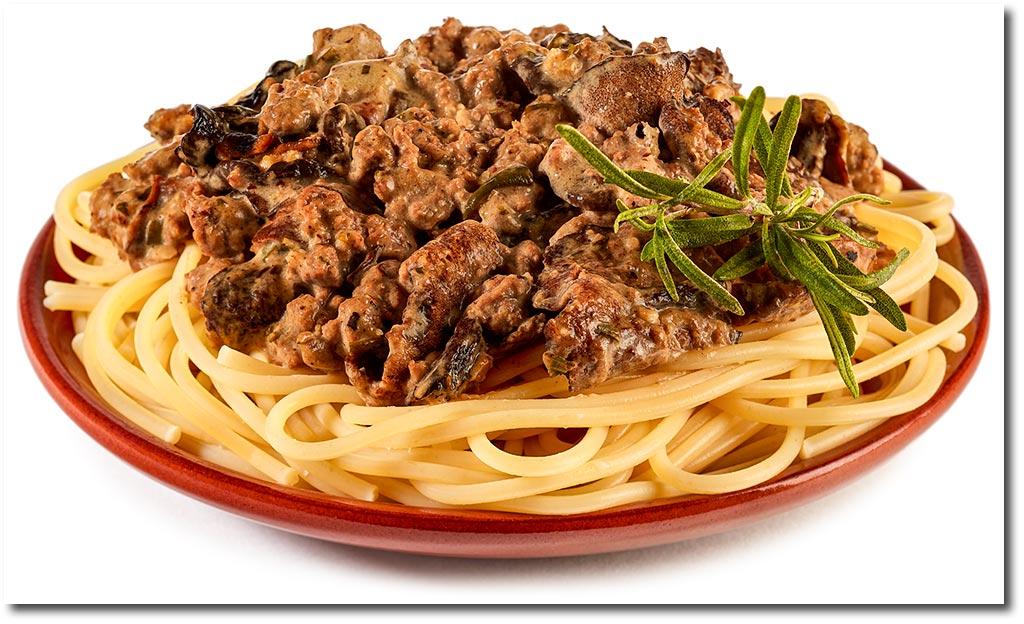spaghetti mit gemischten pilzen rezept. Black Bedroom Furniture Sets. Home Design Ideas
