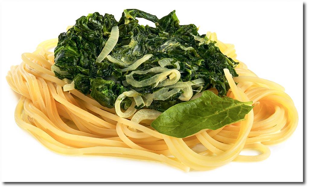 spaghetti mit spinat sahne sauce rezept. Black Bedroom Furniture Sets. Home Design Ideas