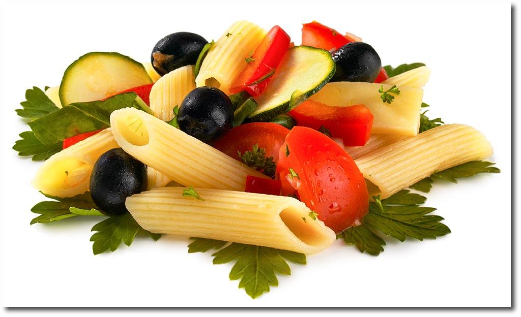 nudel salat italienisch rezept. Black Bedroom Furniture Sets. Home Design Ideas