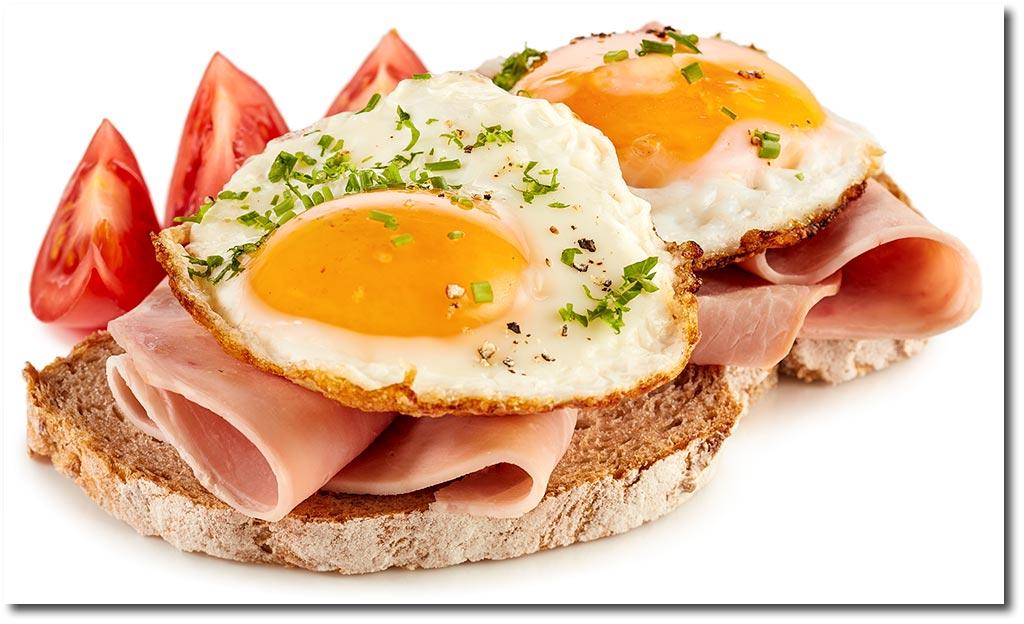 strammer max eier schinken brot rezept