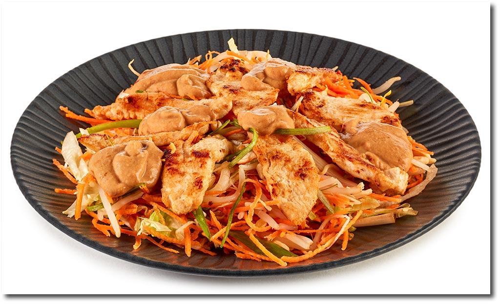 Salat rezepte hahnchen