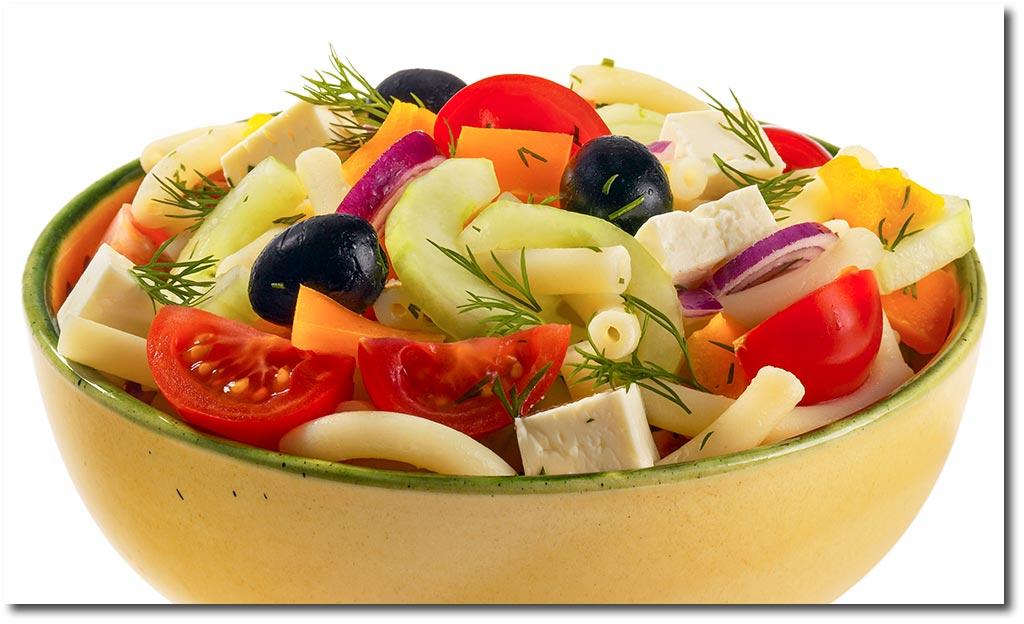 griechischer nudel salat rezept. Black Bedroom Furniture Sets. Home Design Ideas