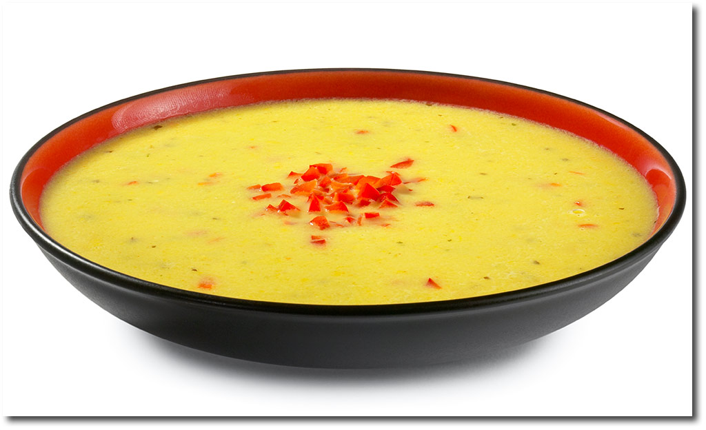 suppen rezepte paprika creme suppe