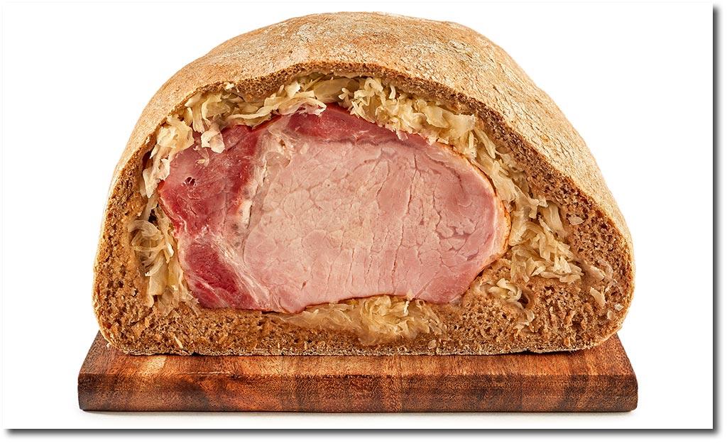 Kassler Im Brot Teig Rezept