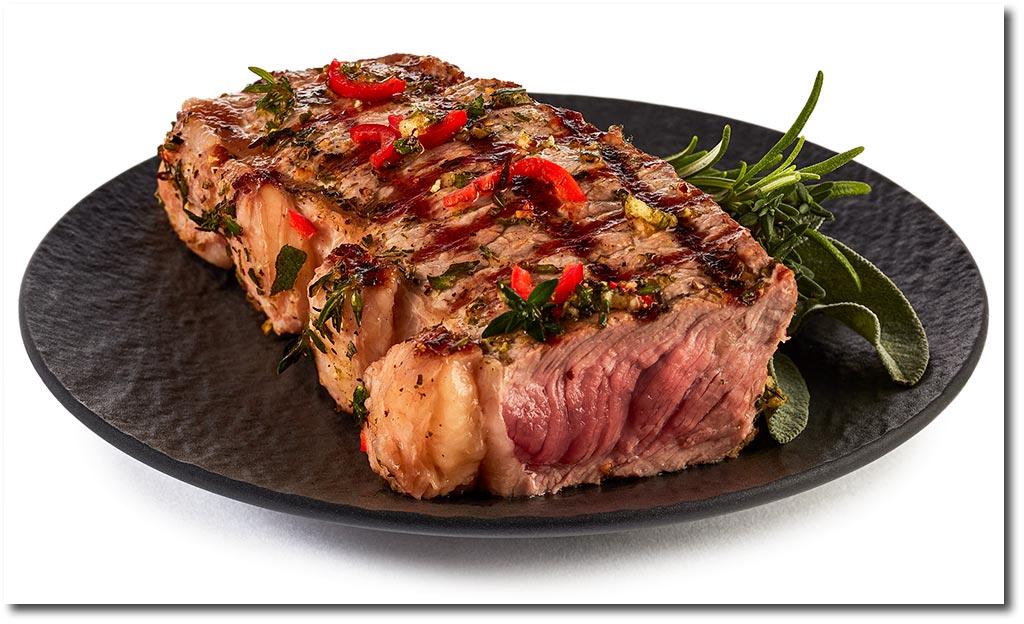 rump steak mit kr uter marinade rezept. Black Bedroom Furniture Sets. Home Design Ideas