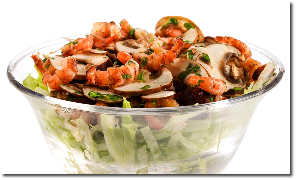 krabben salat mit champignons rezept. Black Bedroom Furniture Sets. Home Design Ideas